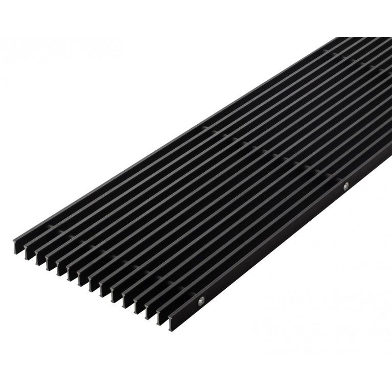 Решетка Алюминиевая ширина - 400 мм Carrera для внутрипольных конвекторов CV2/SV2 120 aluminiy_400
