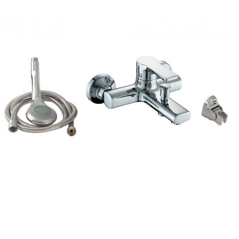 DUCT смеситель для ванны  однорычажный, хром  35 мм + ПОДАРОК