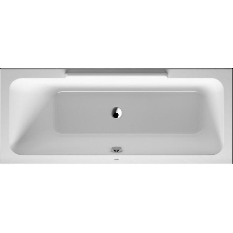 Купить DURASTYLE ванна 160*70*46см, встраиваемая версия или версия с панелями, с наклоном для спины слева у официального дилера DURAVIT в Украине