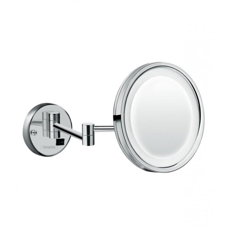 Logis Зеркало косметическое, с LED подсветкой, хром