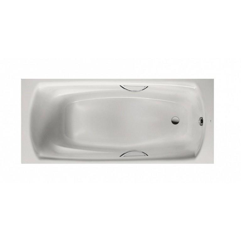 SWING PLUS ванна стальная 180*80, толщ. 3,5 мм, с ручками
