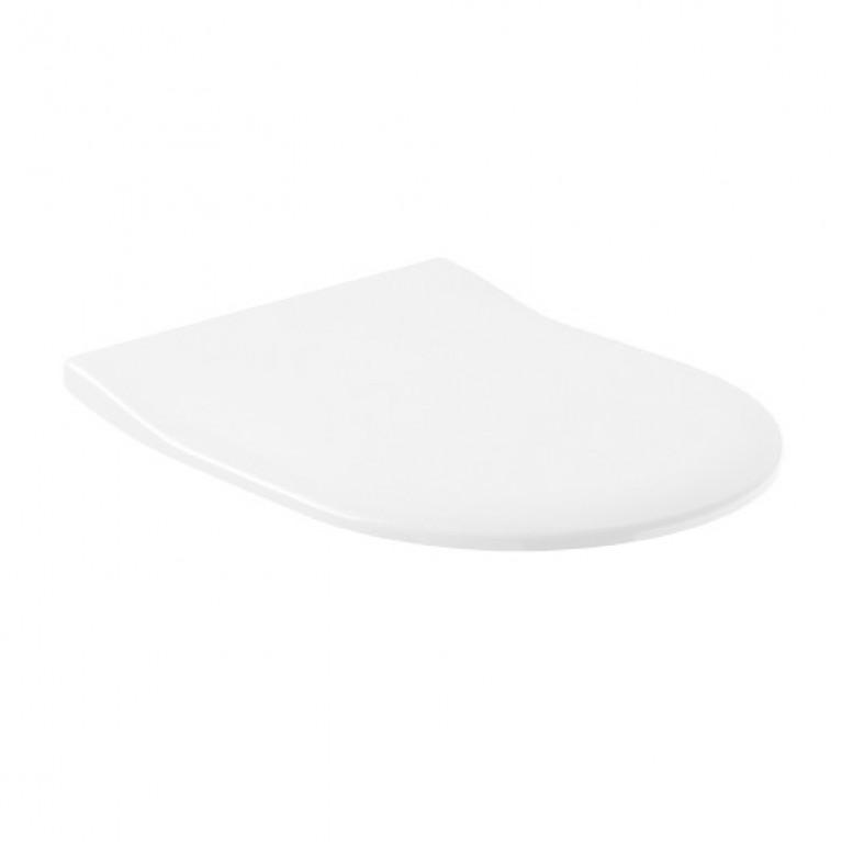 ARCHITECTURA сиденье с крышкой для унитаза, SlimSeat, белый альпин, фото 1
