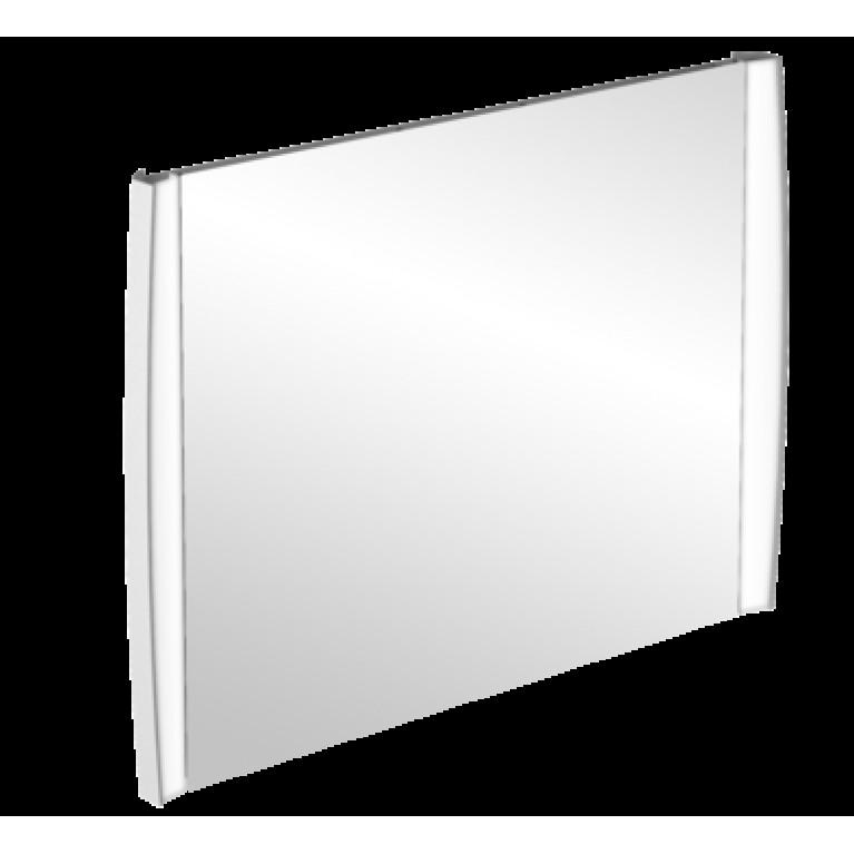 AVEO NEW GENERATION зеркало 143,5*75*6,5см, светодиодная подсветка, регулировка яркости, сенсорный переключатель, цвет белый глянец, фото 1