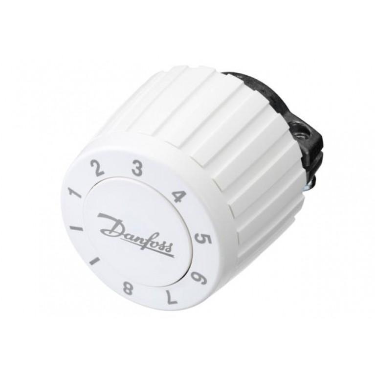 Danfoss Термоголовка FJVR регулировка 10-80 °С (белая) 003L1070, фото 3