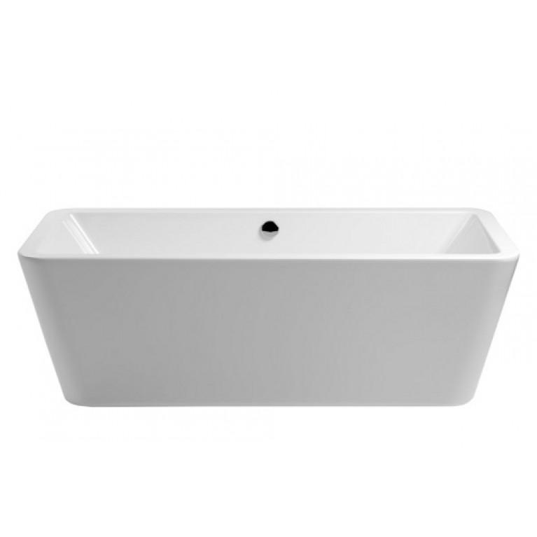 """ALLURE ванна 180*80см, со сливом-переливом """"klick"""" (хром)"""