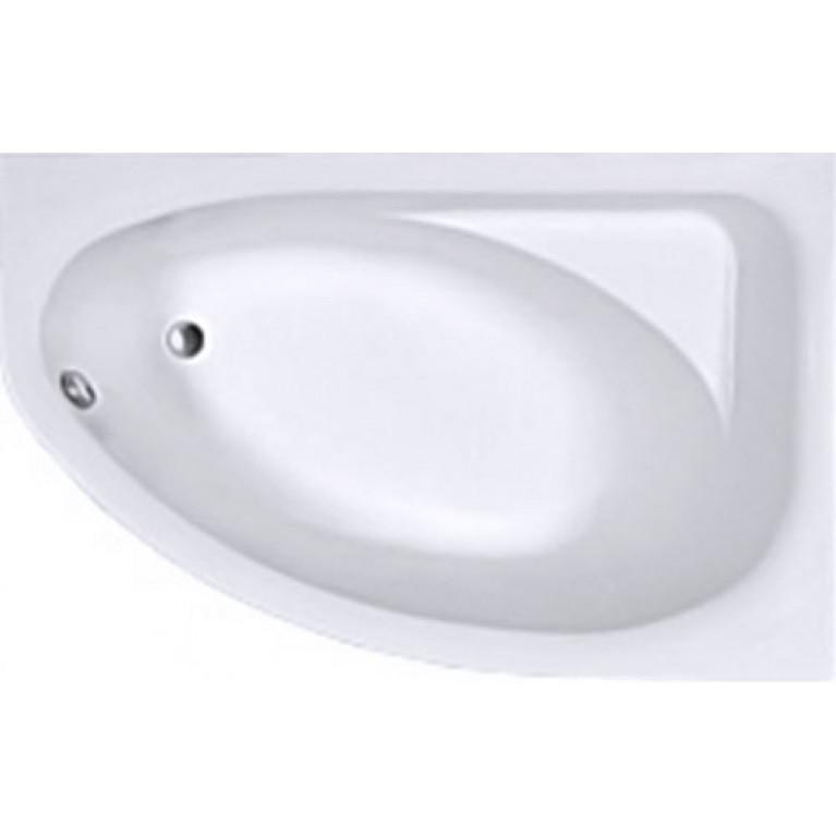 SPRING ванна асимметричная 160*100 см, правая, белая, с ножками SN7