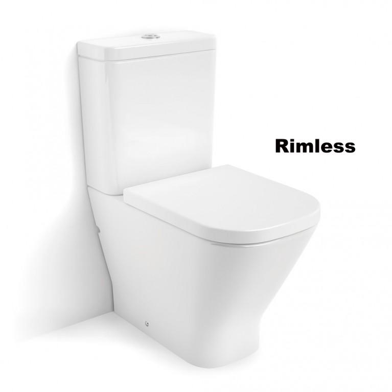 GAP Rimless унитаз напольный, в комплекте с бачком, с сиденьем slow closing, фото 1