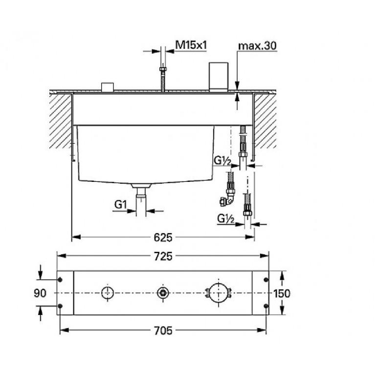 Tenso Внутренний механизм для 19154000 33342000, фото 2