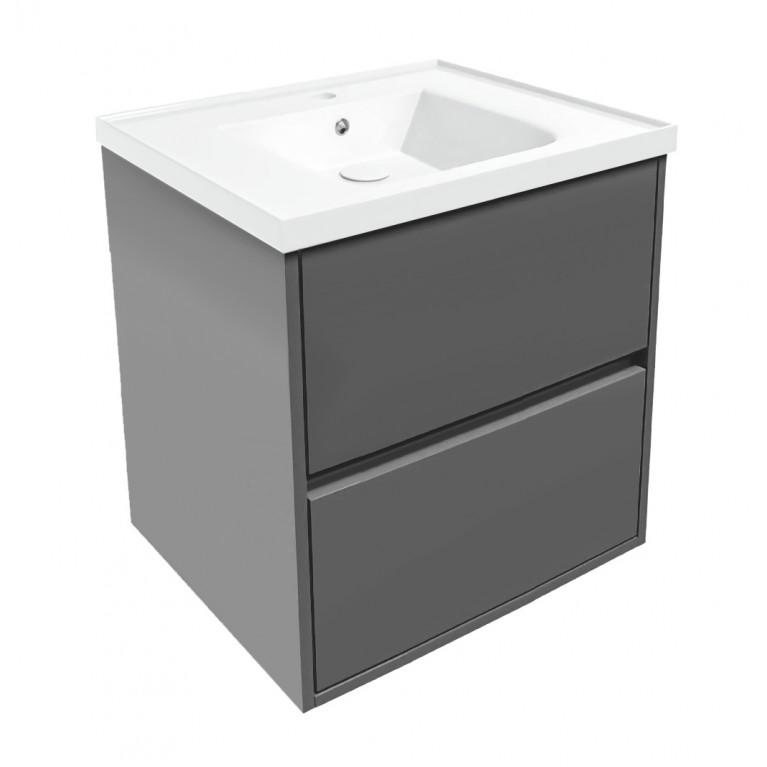 Комплект мебели TEO 65см серый