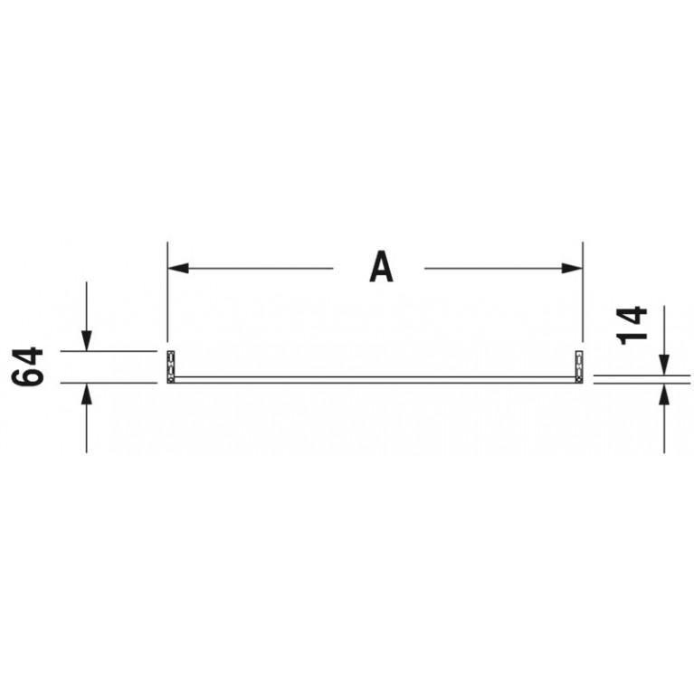 DYRASTYLE полотенцедержатель для умывальника 232012 003108, фото 3