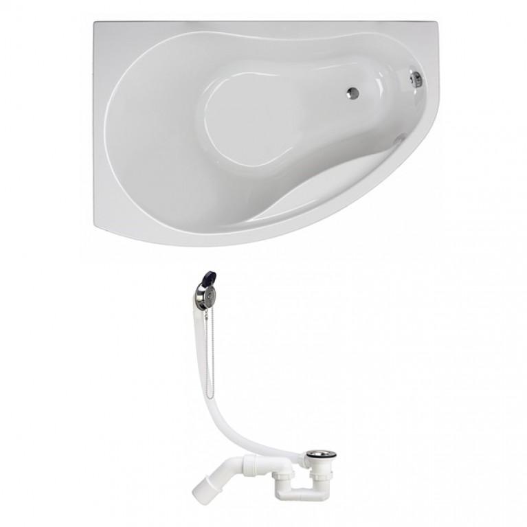 PROMISE ванна асимметричная 170*110 см, левая, фото 1