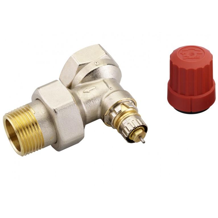 Клапан RA-N для двухтрубных системы отопления Ду25 DIN угловой 013G0037, фото 2