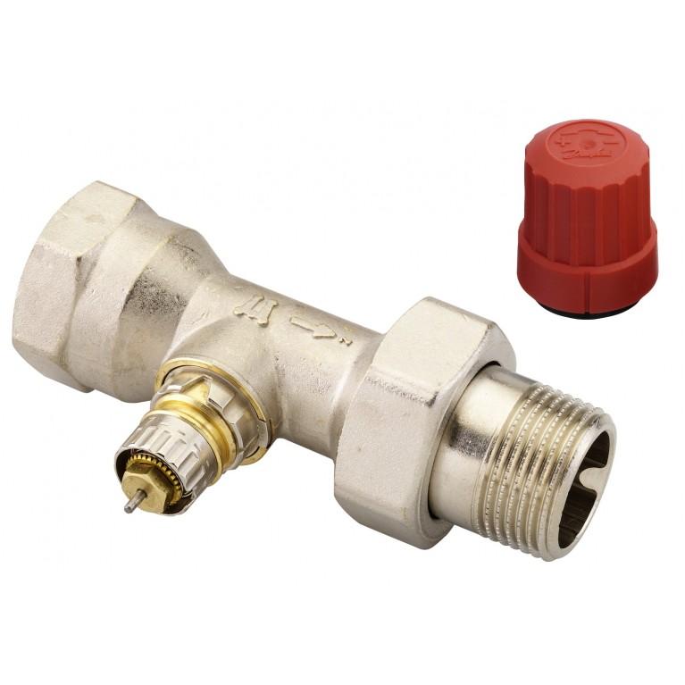 Клапан RA-N для двухтрубных системы отопления, никель, Ду25 DIN прямой 013G0038, фото 2