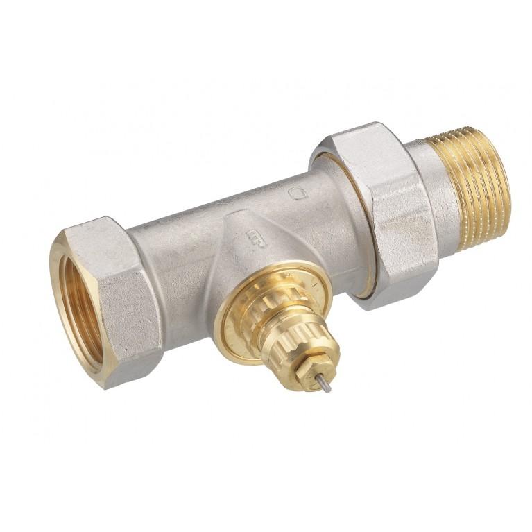 Клапан Danfoss RA-G 25 никель для однотрубной системы отопления, прямой DN25 013G1679, фото 2