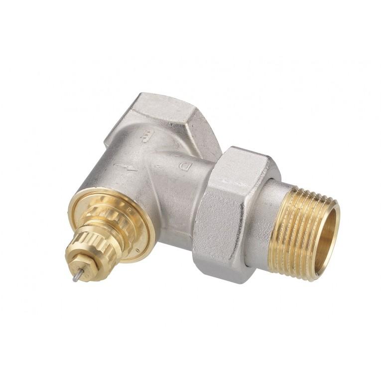 Клапан Danfoss RA-G 25 для однотрубной системы отопления, угловой, никель DN25 013G1680, фото 2