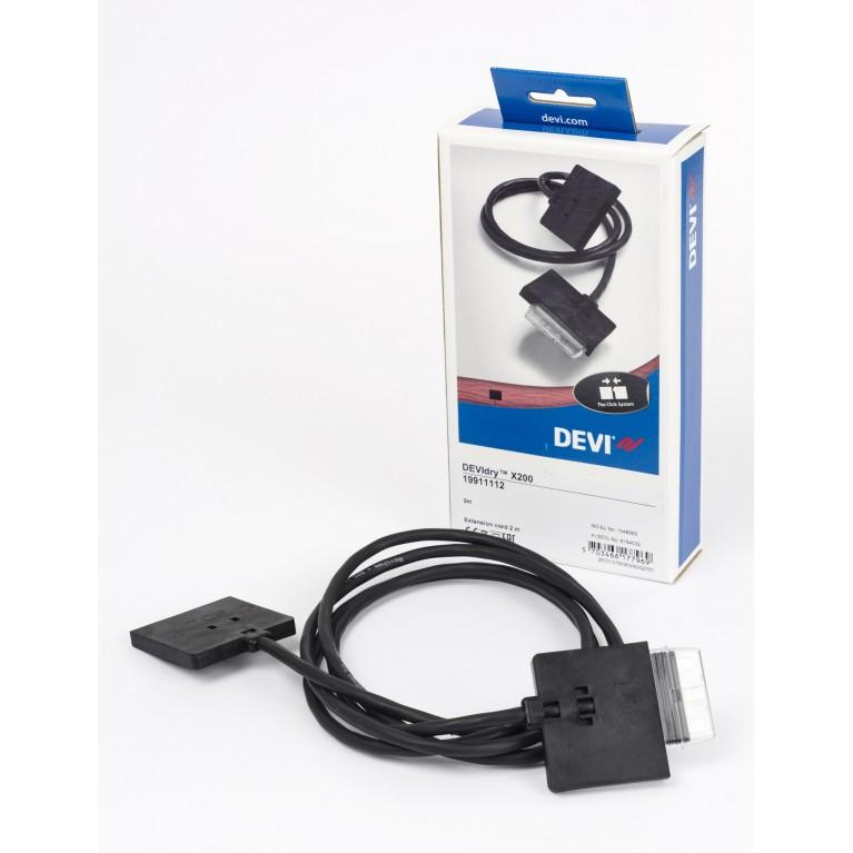 Удлинительный кабель DEVI DEVIdry X200 2 м 19911112, фото 2
