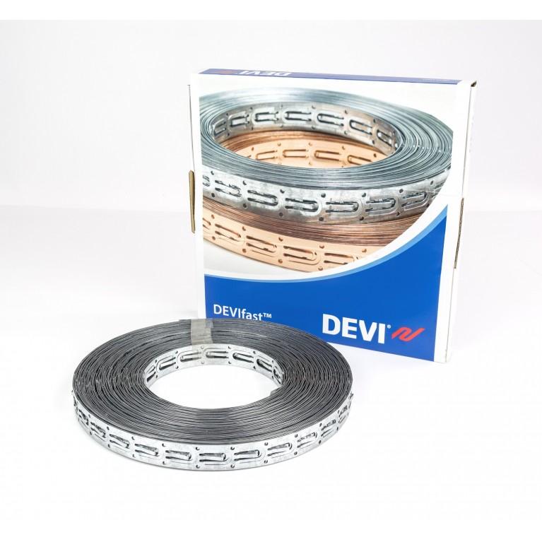 Оцинкованная монтажная лента DEVIfast™ 25 м, металлический, в коробке