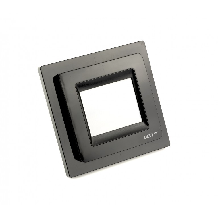 Терморегулятор DEVIreg Touch сенсорный черный 140F1069, фото 3