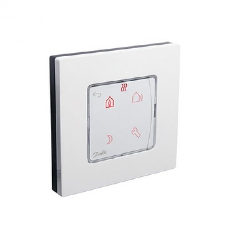 Danfoss Терморегулятор Icon Programm, электронный, сенсорный, программируемый, 230V, On-wall, белый 088U1025, фото 3
