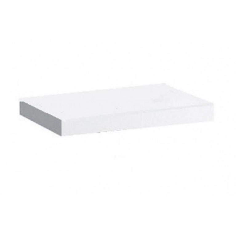 CASE столешница 790*80*520мм, без выреза, в комплекте 2 кронштейна, цвет белый