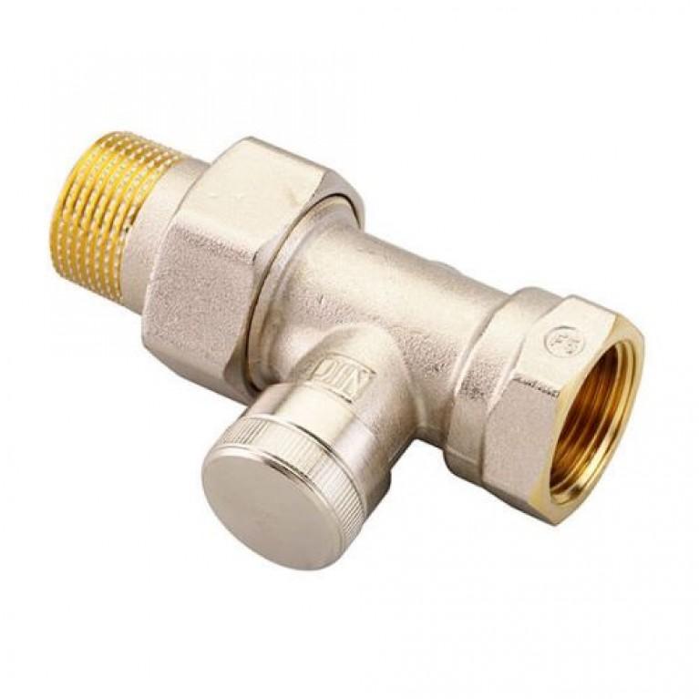 Запорный клапан Danfoss RLV 20 для однотрубной системы прямой