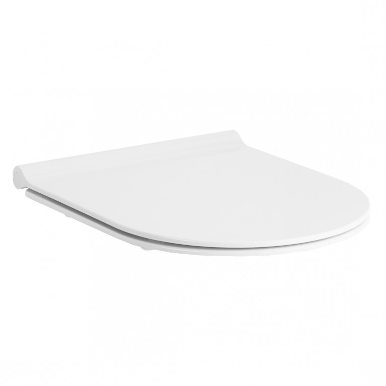 NEMO сиденье для унитаза твердое Slim слоу-клоуз метал крепл. (исп)