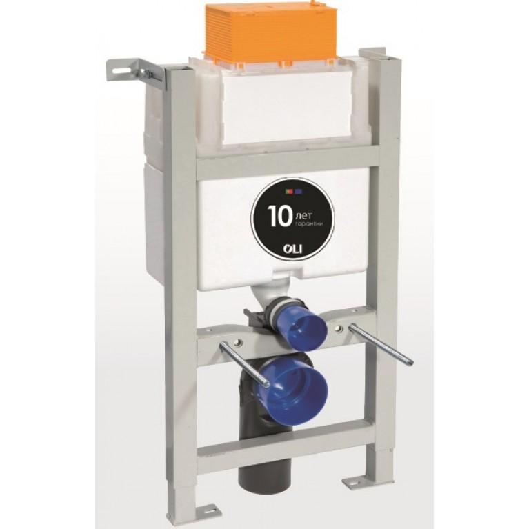 Expert Evo 820 Инсталляция для унитаза, механическая, установка панели сверху