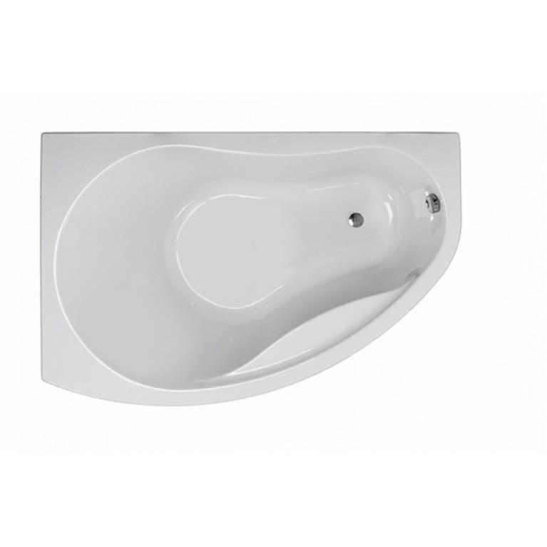 PROMISE ванна асимметричная 170*110 см, левая, с ножками SN8, фото 1