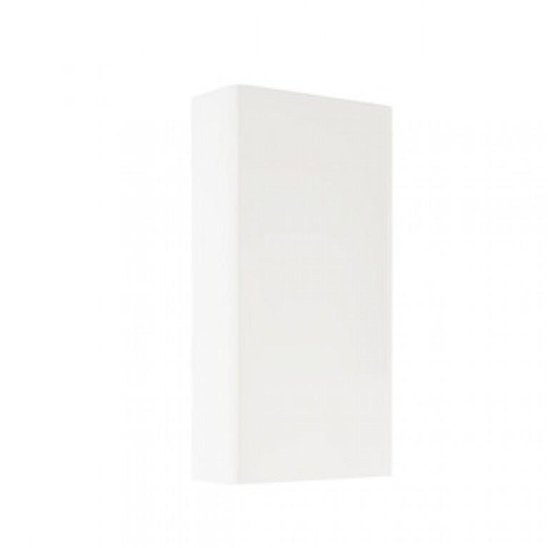 NOVA PRO шкафчик на панель для стеллажа, белый глянец