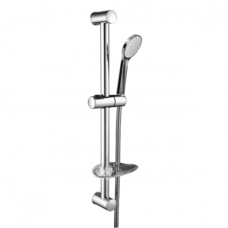 NEMO штанга душевая L-67cm,мыльница,ручной душ 1 режим,шланг 1,5м