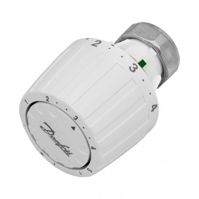 Danfoss Термоголовка 2945, подключения RA, регулировка 5-26 °С (белая), фото 1