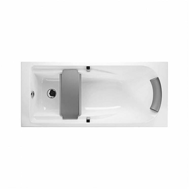 COMFORT PLUS ванна 180*80см с ручками (037376)без панели ( гидром. система эконом)