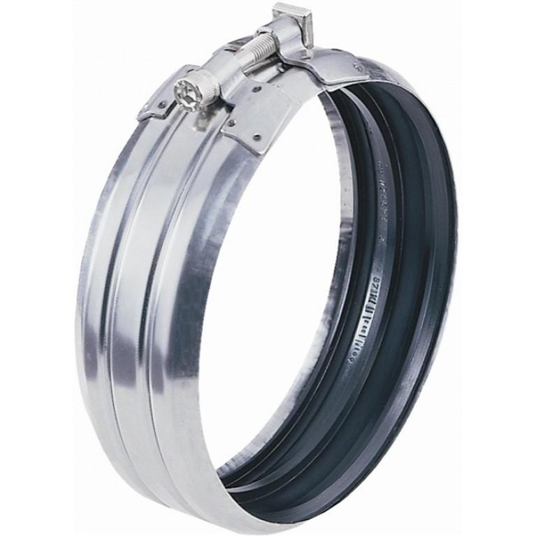 Хомут соединительный из черного металла Dukorapid, DN 200