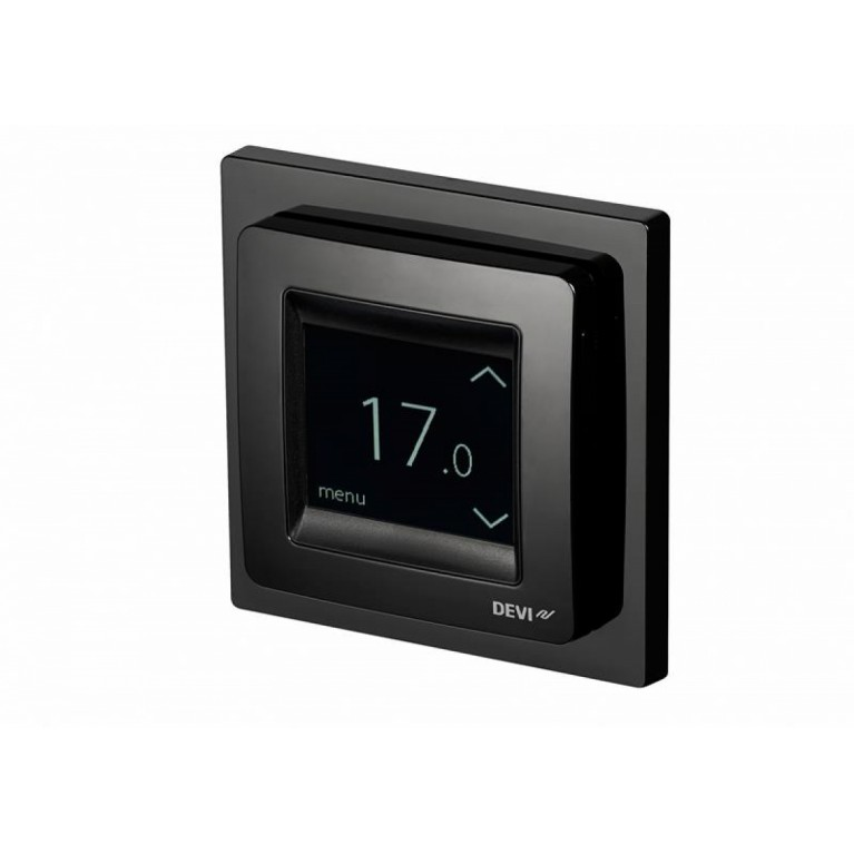 Терморегулятор DEVIreg Touch сенсорный черный 140F1069, фото 4