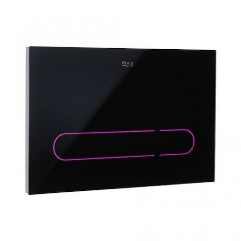 Купить EP1 кнопка электронная для инсталляционных систем, с автоматическим или бесконтактным сливом, с цветной подсветкой у официального дилера Roca в Украине