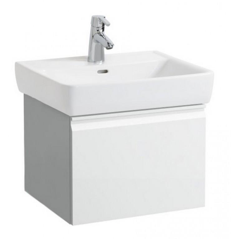 PRO тумба 520*450*390мм, для раковины 818952, с 1м выдвижным ящ., цвет белый