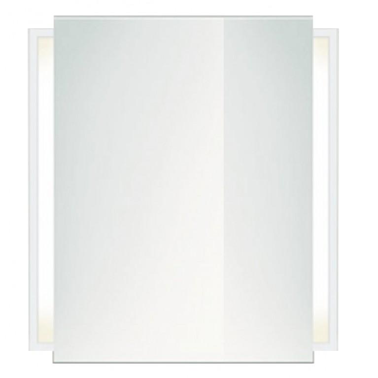 KETHO зеркальный шкаф 65*75см (цвет белый матовый)