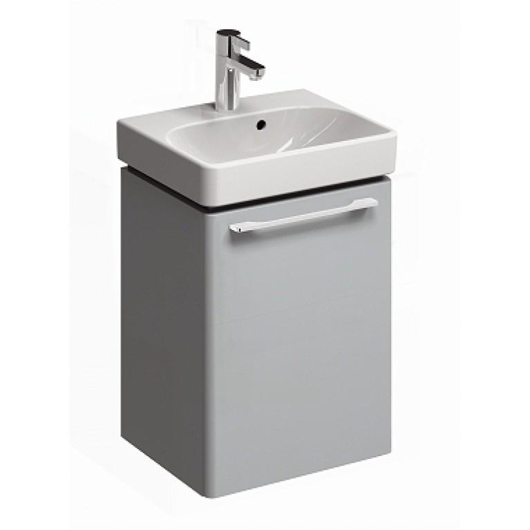 TRAFFIC шкафчик под умывальник 43,4*6,5*34,9 см,платиновый глянец (пол.)