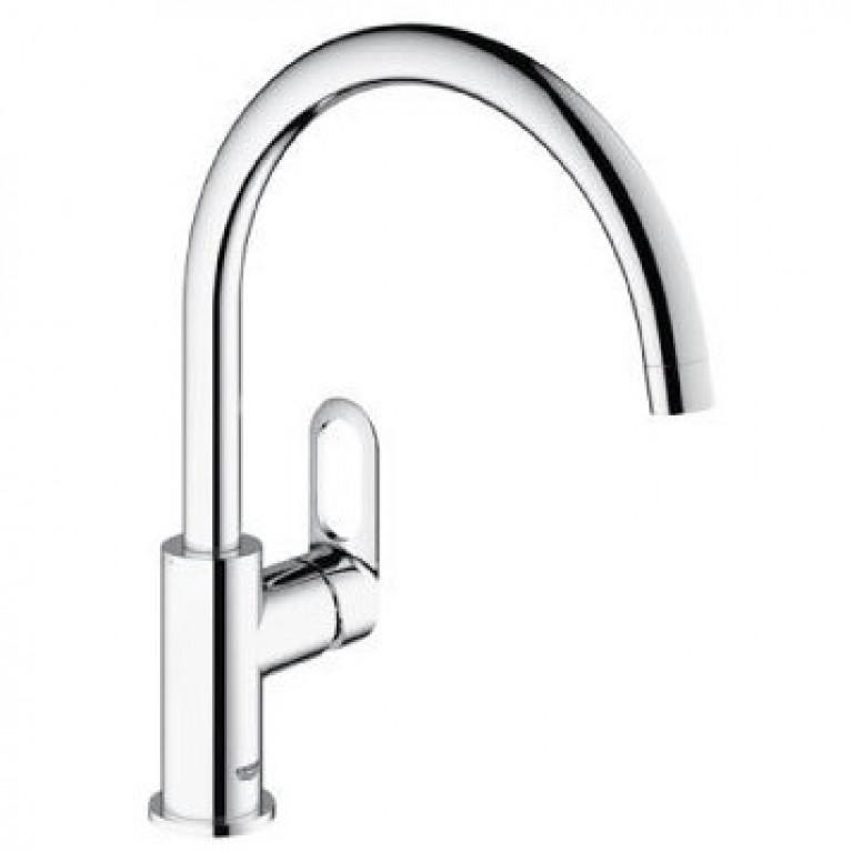BauLoop Набор смесителей для ванны+кухня 123225K, фото 4