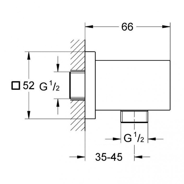 Euphoria Cube шланговое подсоединение 27704000, фото 2