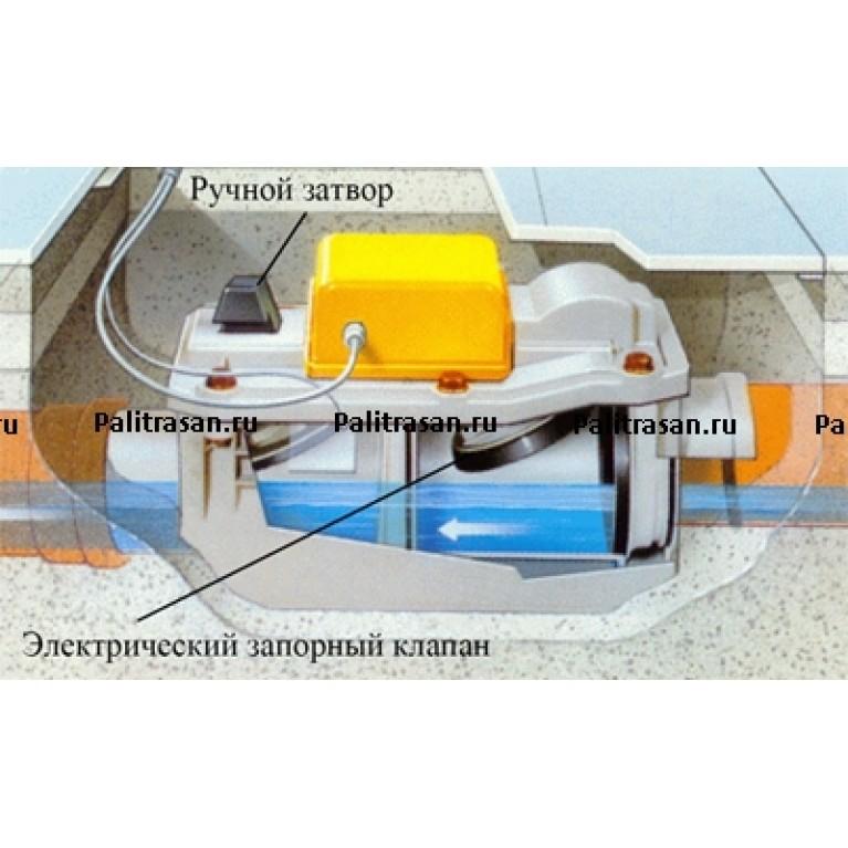 4987.41 Клапан канализационный, обратный Grundfix Plus Control 667788, фото 2