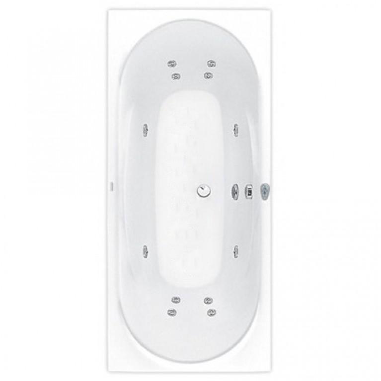 GEMINI ванна 180*80см, с системой гидромассажа System Economy 1, фото 1