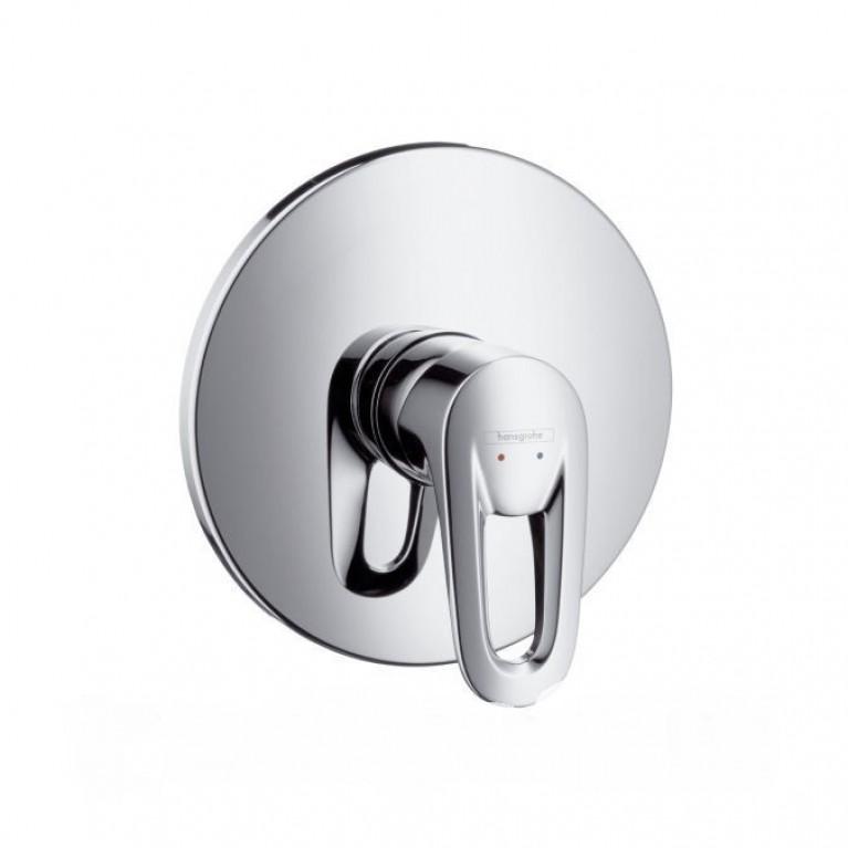 Metropol E -смеситель в душ врезной (хром- золото) HANSGROHE 14675090, фото 1