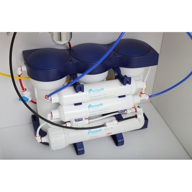 Фильтр обратного осмоса Ecosoft P'URE с минерализатором MO675MPURE, фото 5