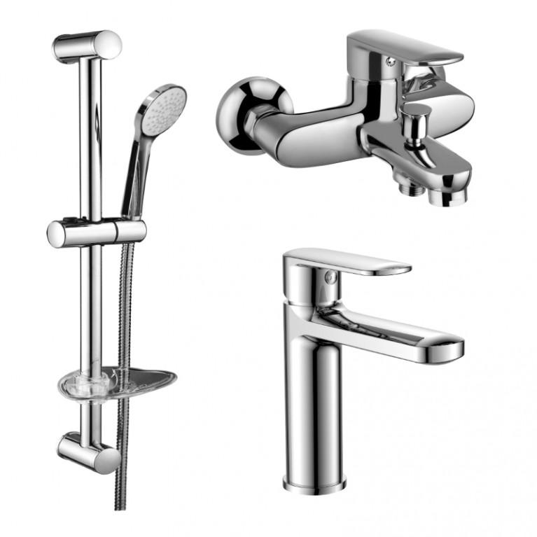 Купить FIESTA набор для ванны (15151100+15152100+штанга) у официального дилера VOLLE в Украине