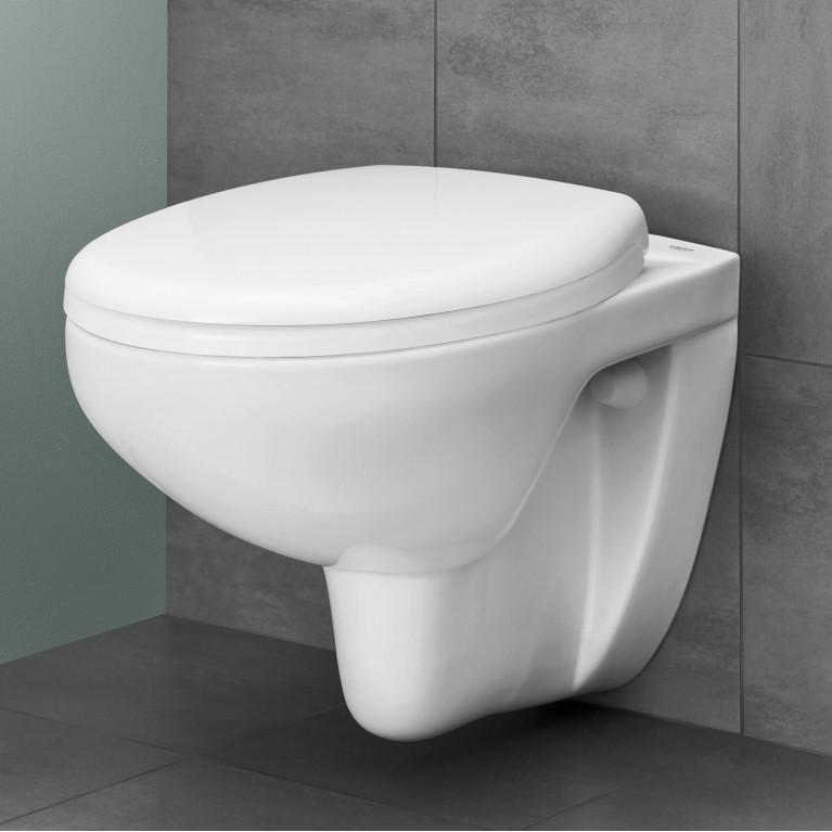 Bau Ceramic Сиденье для унитаза (с микролифтом), альпин-белый 39493000, фото 2