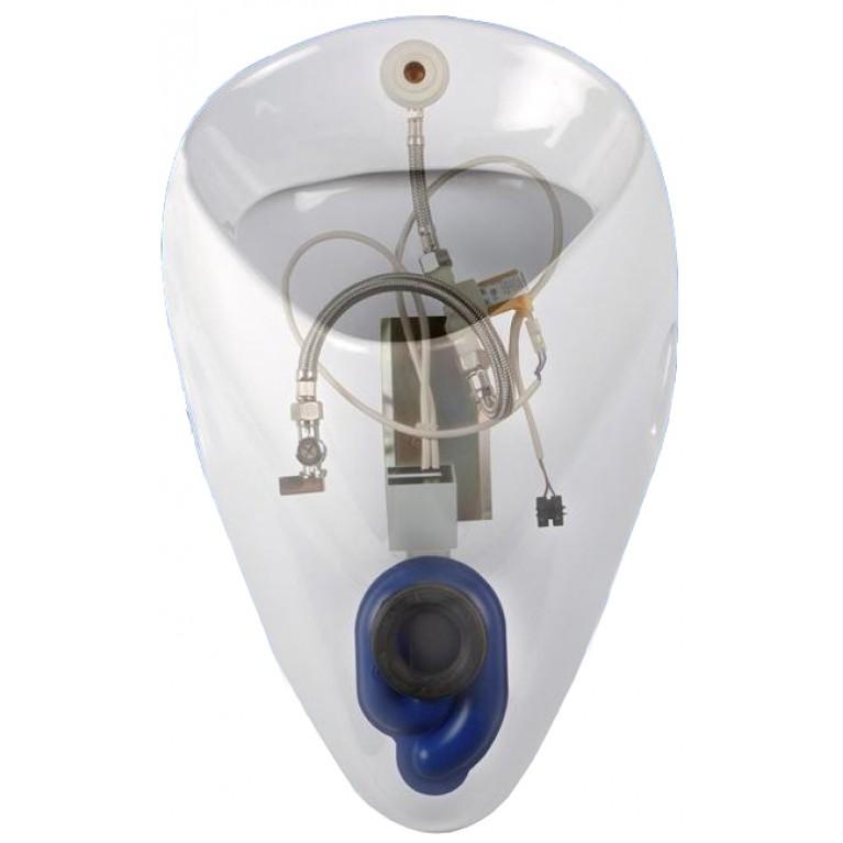 FELIX комплект писсуарный:писсуар 26000,клапан сливной автоматический,сифон для писсуара А99021,мон.набор(пол.) 2607RS, фото 2