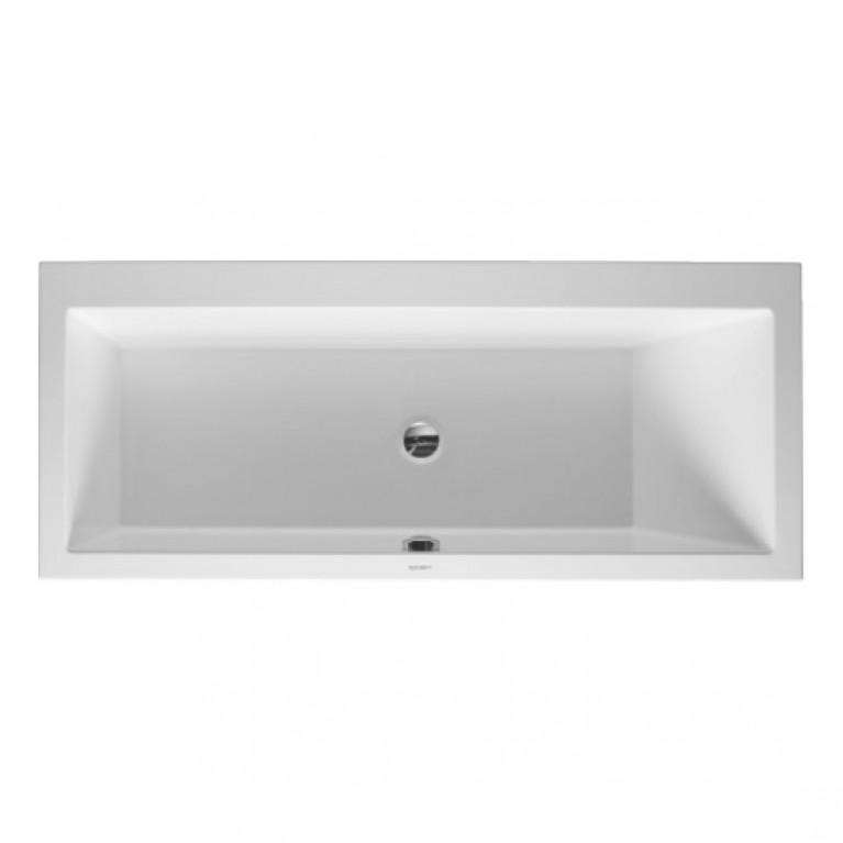 VERO ванна 170*75*46см, встраиваемая версия или версия с панелями, с наклоном для спины справа, прямоугольная