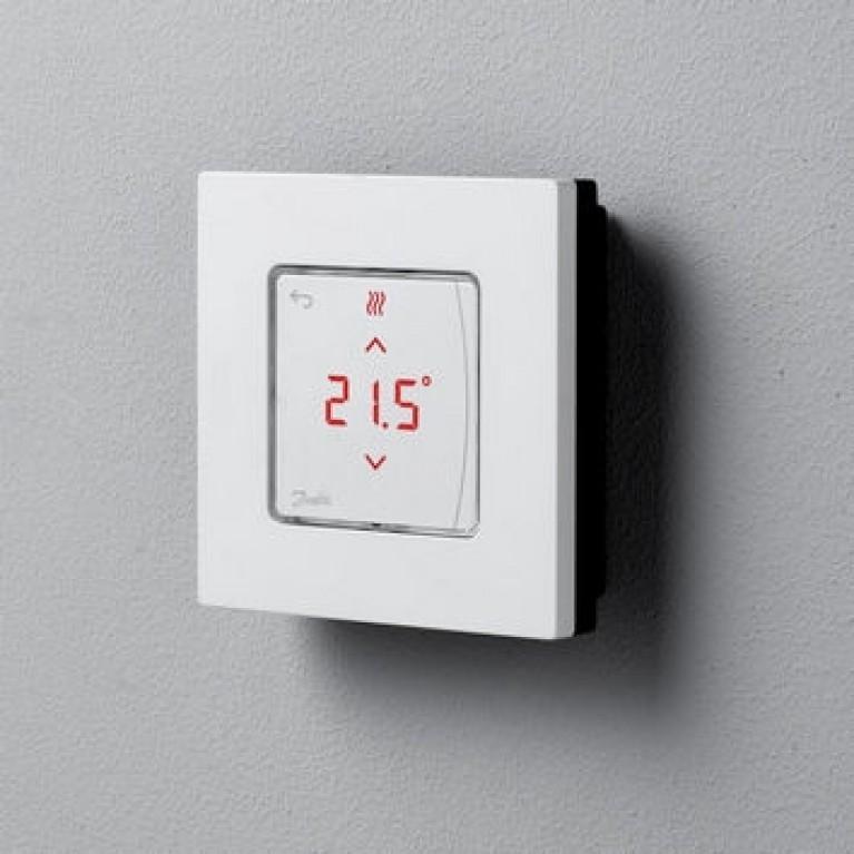 Danfoss Терморегулятор Icon Display, электронный, сенсорный, программируемый 088U1015, фото 3