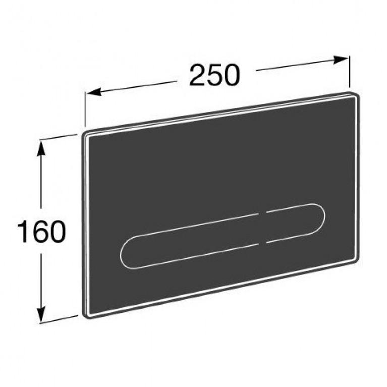 EP1 кнопка электронная для инсталляционных систем, с автоматическим или бесконтактным сливом, с цветной подсветкой A890102008, фото 5